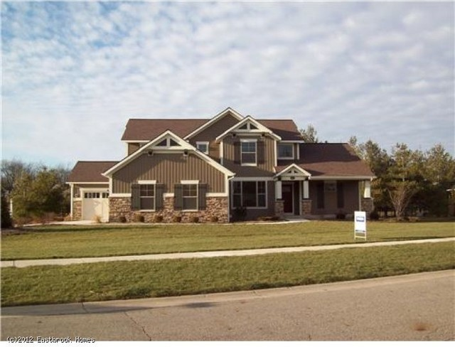 Eastbrook Homes Exterior Traditional with Beautiful Brook Design East