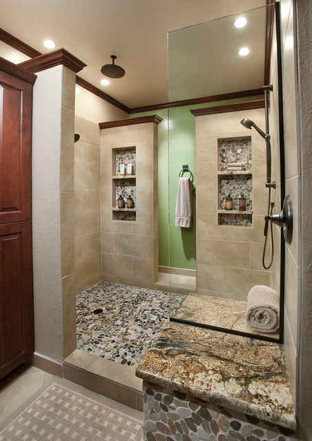 Emser Tile Bathroom Traditional with 12 X 24 Field