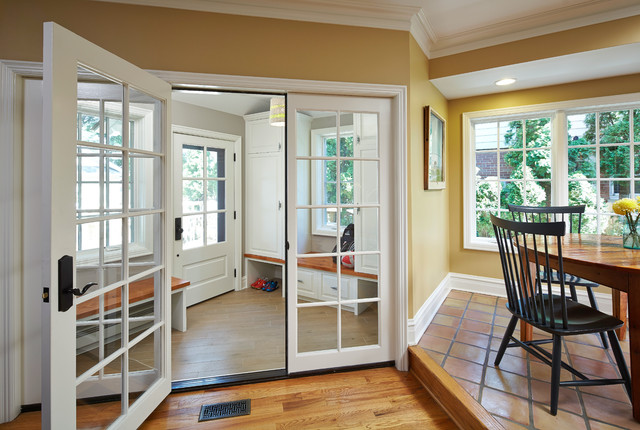 Entryway Bench with Shoe Storage Entry Traditional with Beige Cabinets Beige Molding