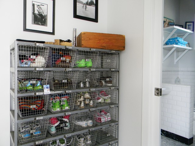 entryway shoe storage Entry Farmhouse with back entry catch-all farm