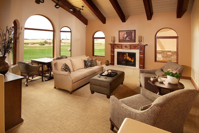 fabrica carpet Living Room Transitional with accent wall arched window