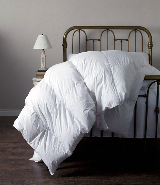 feather comforter Bedroom Traditional with down bedding down comforter