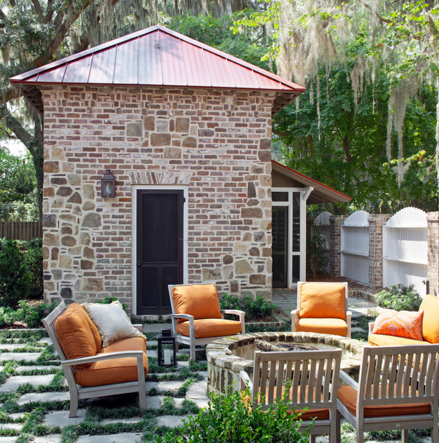 Fire Pit Kits Patio Traditional with Backyard Fire Pit Fence