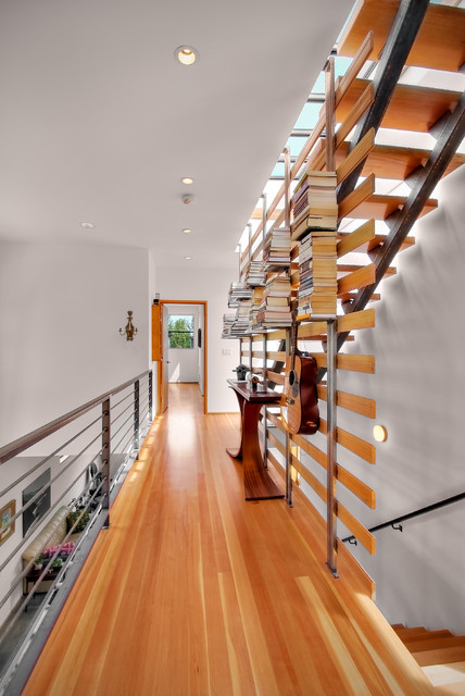 Floating Bookshelves Staircase Modern with Floating Books Floating Bookshelves