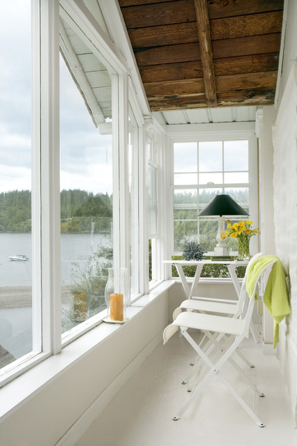 Four Seasons Sunrooms Sunroom Traditional with Alcove Enclosed Porch Nook