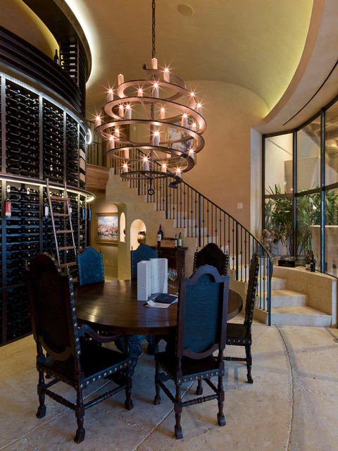 Foyer Chandeliers Wine Cellar Contemporary with Candle Chandelier Ceiling Lighting
