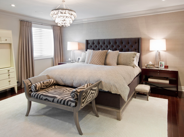 furniture land south Bedroom Transitional with animal print bed Bedroom