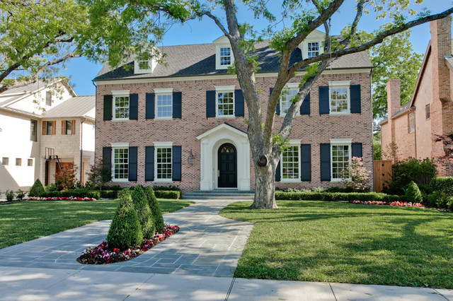 Gaf Timberline Hd Exterior Traditional with Arched Front Door Black