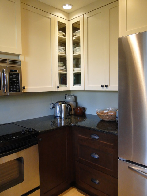 Glass Curio Cabinets Kitchen Transitional with Curio Cabinet Custom Design