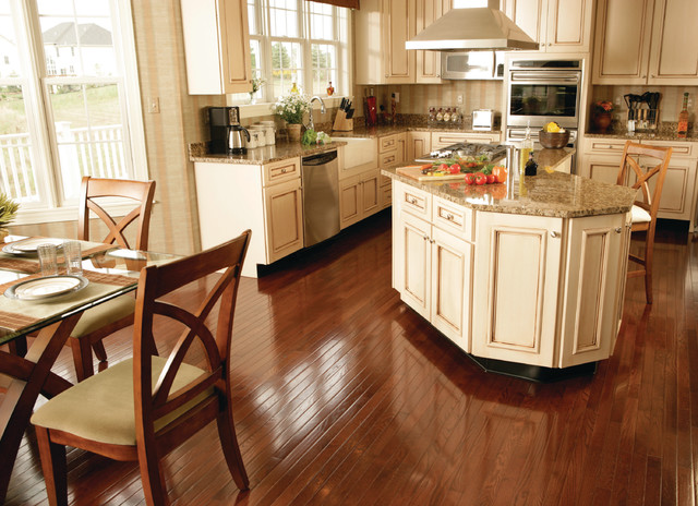 Glass Spice Jars Kitchen Traditional with Flooring Hardwood Kitchen
