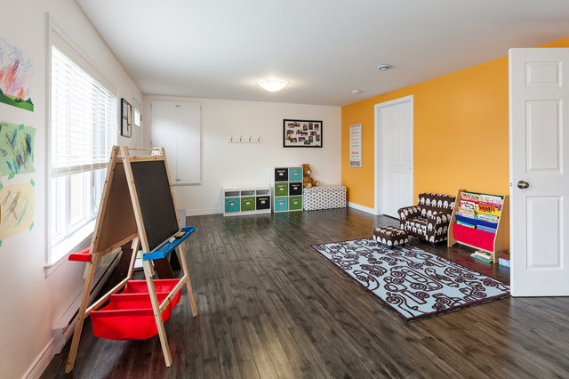 grey laminate flooring Kids Contemporary with CategoryKidsStyleContemporaryLocationOther Metro