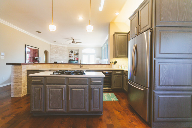 Haas Cabinets Kitchen Transitional with Categorykitchenstyletransitionallocationother Metro