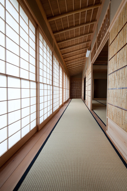 Hallway Runners Hall Asian with Addition Bamboo Floor Mat