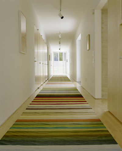 Hallway Runners Hall Modern with Colorful Rug Entry Hallway