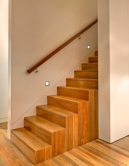 Handrails for Stairs Staircase Contemporary with Castlecrag Custom Stair Extensions
