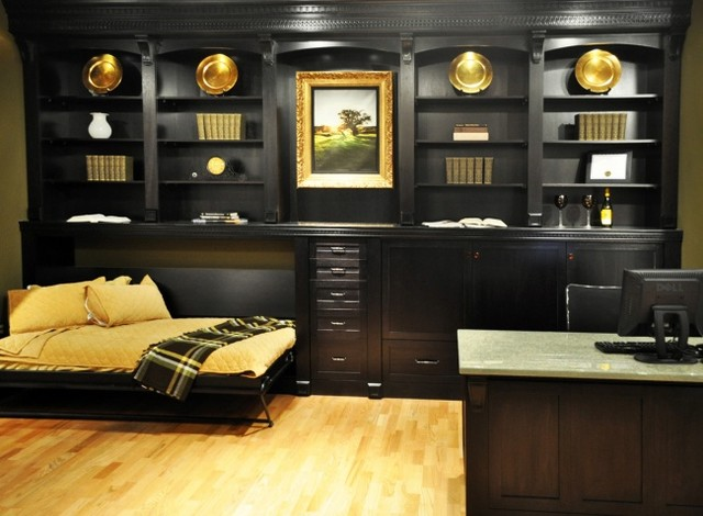 Horizontal Murphy Bed Home Office Traditionalwith Categoryhome Officestyletraditional