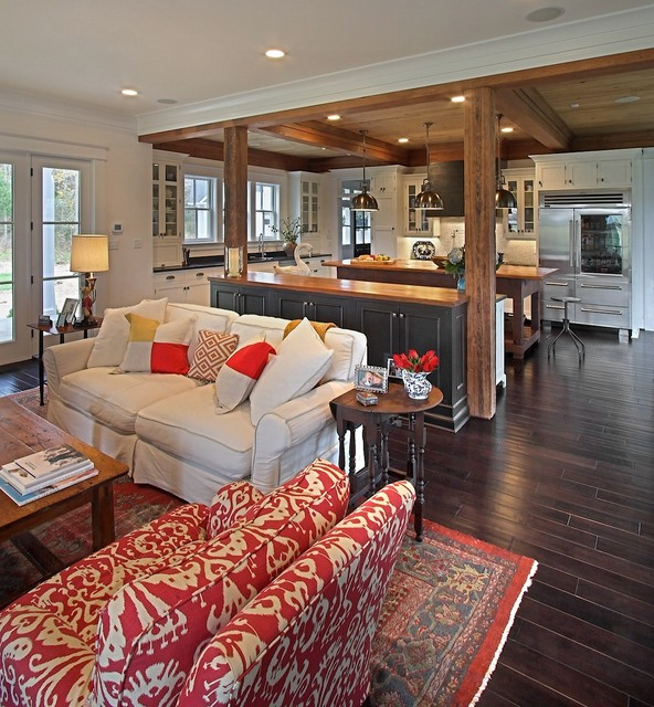 How Much Does It Cost to Refinish Hardwood Floors Living Room Traditional with Black Pendants Brown Floor