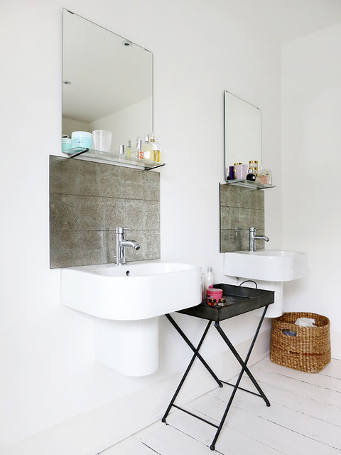 ikea bathroom sinks Bathroom Eclectic with CategoryBathroomStyleEclecticLocationLondon