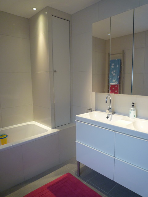 Ikea Bathroom Vanities Spaces Contemporary with Categoryspacesstylecontemporarylocationother Metro 5