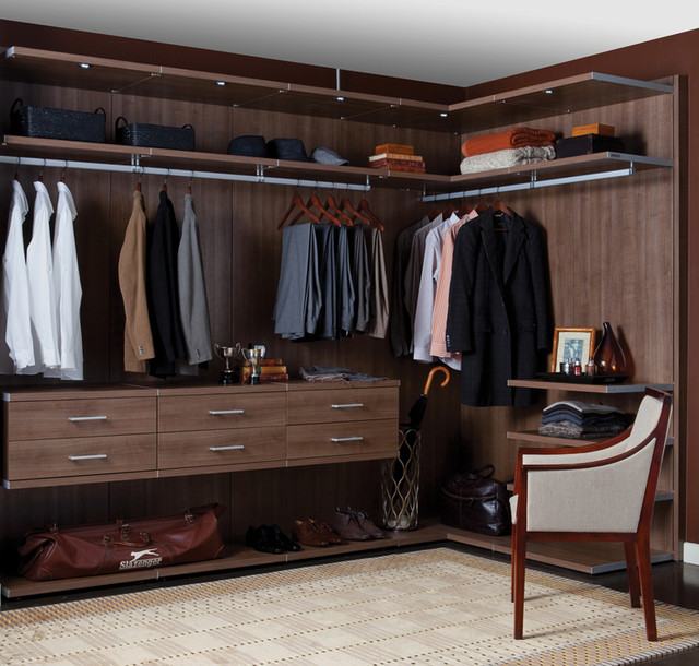 ikea closet organizer Closet Contemporary with built in closets California