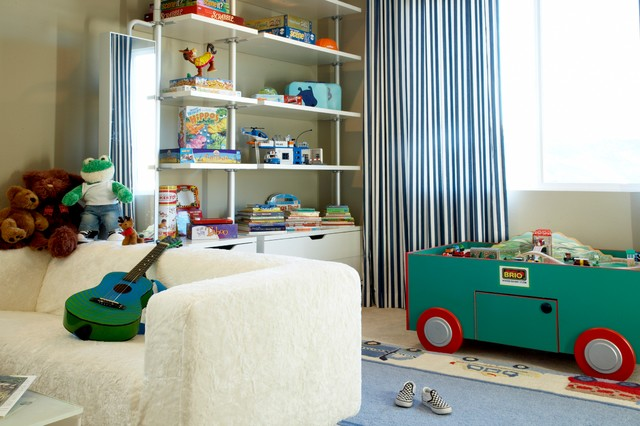 Ikea Closet System Kids Modern with Area Rug Bedroom Blue1