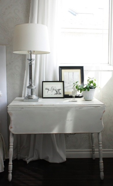 Ikea Drop Leaf Table Bedroom Shabby Chic with Antique Table Bedside Table4