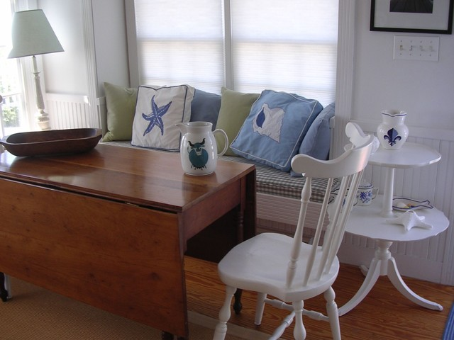 Ikea Drop Leaf Table Dining Room Beach with Banquette Beach Cottage Beach1