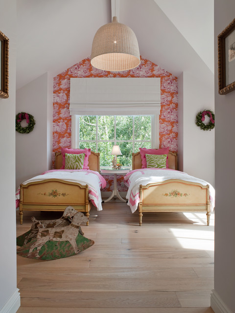 Ikea Kura Bed Kids Farmhouse with Accent Wall Cottage Bed