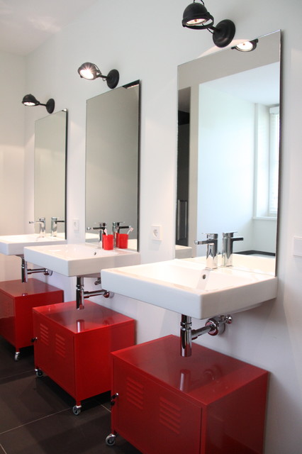 Ikea Locker Bathroom Contemporary with Categorybathroomstylecontemporarylocationamsterdam 1