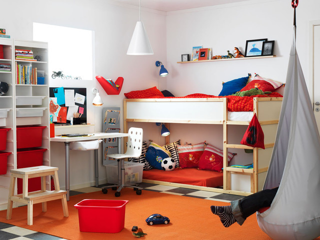 Ikea Mattresses Kids Contemporary with Bunk Bed Desk Hanging7
