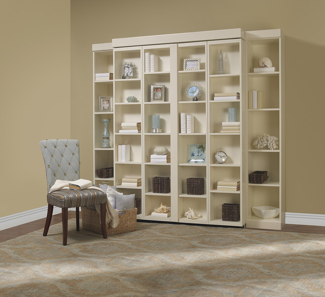 Ikea Murphy Bed Living Room Contemporary with Bookshelf Bed Disappearing Bed