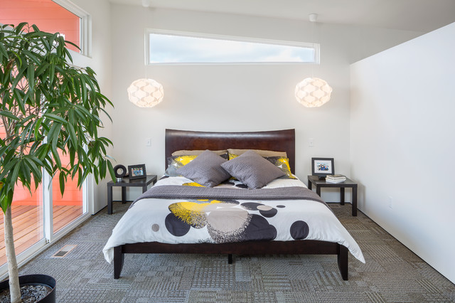 Ikea Pendant Light Bedroom Contemporary with Balcony Deck Bed Bedding