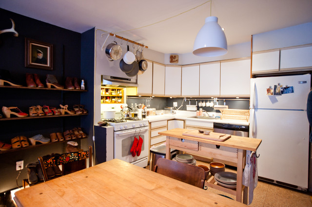 ikea pendant light Kitchen Eclectic with CategoryKitchenStyleEclecticLocationNew York