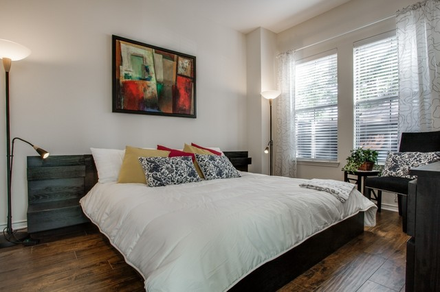 Ikea Platform Bed Bedroom Contemporary with Bed Contemporary Artwork Contemporary