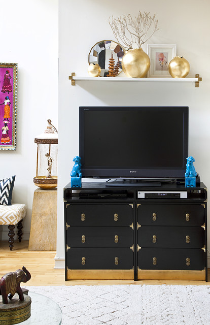 Ikea Rast Living Room Eclectic with Asian Hardware Foo Dogs