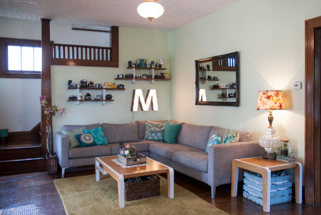 Ikea Sectionals Living Room Eclectic with Bungalow Display Shelving Eclectic1