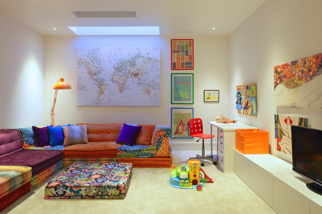 Ikea Sleeper Sofa Kids Contemporary with Bright Colors Childrens Room
