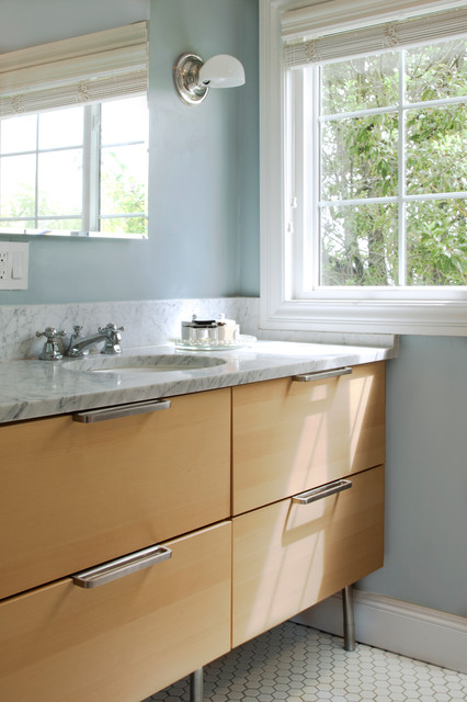 Ikea Vanities Bathroom Transitional with My Houzz 3
