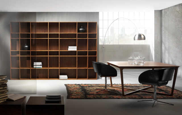 Ikea Vanity Table Dining Room Modern with Bookcase Bookshelves Centerpiece Cubbies1