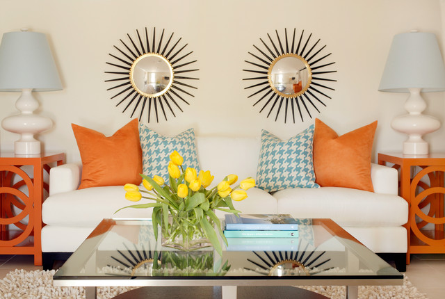 Inexpensive Couches Living Room Tropical with Decorative Pillows End Tables