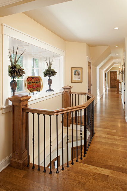 Iron Balusters Hall Traditional with Hall Iron Iron Baluster