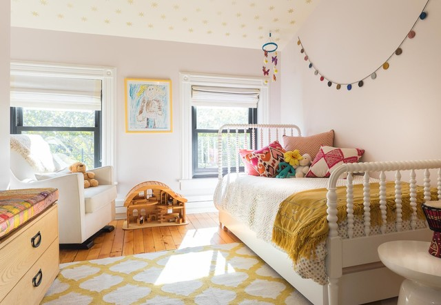 Jenny Lind Bed Kids Traditional with Armchair Brooklyn Brownstone Custom