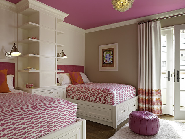 john robshaw bedding Bedroom Transitional with bed pillows bookcase bookshelves