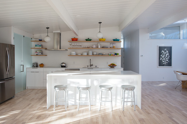 Kahrs Flooring Spaces Midcentury with Clean Lines Eichler Metal