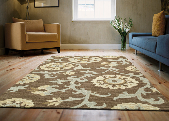 Kaleen Rugs Living Room Transitional with Area Rugs Hand Tufted