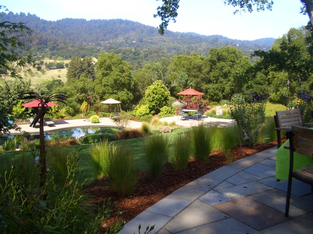 Keith Zars Pools Landscape Traditional with Garden Lighting Grass Grasses