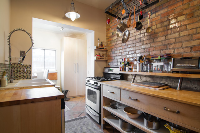 Kitchen Islands Ikea Kitchen Eclectic with Area Rug Brick Wall1