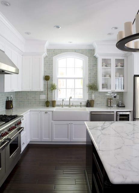 kitchen sinks lowes Kitchen Traditional with apron sink arched window