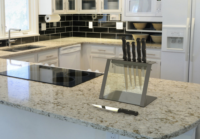 Kitchen Utensil Holder Kitchen Contemporary With Contemporary Knife Holder Countertop Home