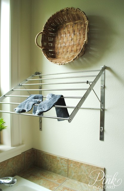 Laundry Drying Rack Laundry Room Farmhouse with Cottage Drying Rack Farmhouse